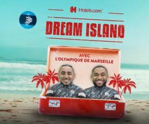 Activation – Hotels.com met en scène les vacances des joueurs de l'Olympique de Marseille