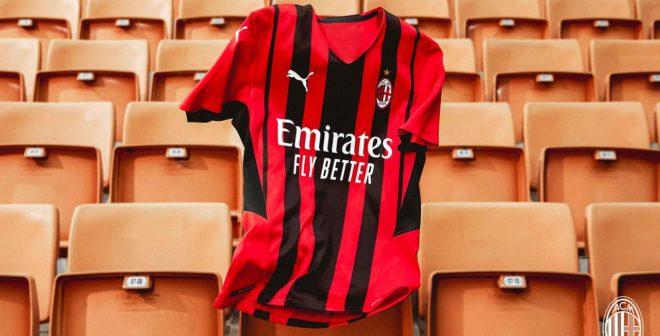 Puma dévoile le nouveau maillot domicile 2021-2022 de l'AC Milan avec «Move Like Milan»