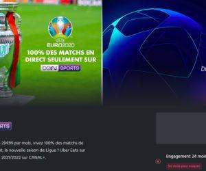 BON PLAN : Les chaînes Canal+, beIN SPORTS et Eurosport en promotion en juin 2021