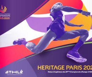 Rapport Héritage des 25èmes Championnats d'Europe d'Athlétisme Paris 2020 réalisé par l'agence Carpe Minute