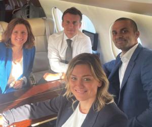 Emmanuel Macron lance le «Pass'Sport», Tony Parker et Laure Boulleau en ambassadeurs de l'allocation de rentrée sportive de 50€