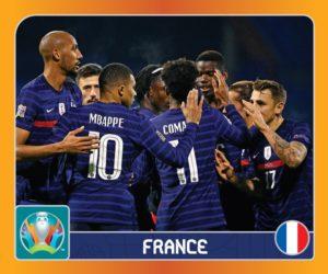 La liste des 20 Bleus sélectionnés par Panini pour son album UEFA Euro 2020