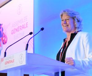 Brigitte Henriques nouvelle Présidente du CNOSF avec 57,8% des voix