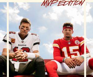 NFL – Tom Brady et Patrick Mahomes sur la pochette de Madden 22