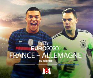 Audiences TV : Un pic à 17,4 millions de téléspectateurs pour France – Allemagne sur M6 (UEFA Euro 2020)
