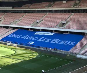 TF1 va déployer une banderole géante «spéciale» pour le match France – Pays de Galles