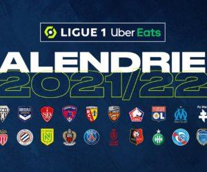 Ligue 1 Uber Eats – Le calendrier des matchs de la saison 2021-2022 et les affiches choisies par le nouveau diffuseur Amazon Prime Video