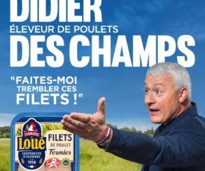 Ambush Marketing – Le sosie de Didier Deschamps est de retour chez les poulets fermiers de Loué pour l'Euro 2020
