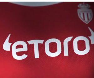 Etoro succède à Fedcom comme nouveau sponsor maillot de l'AS Monaco en Ligue 1