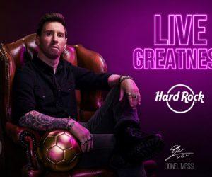 Hard Rock signe un contrat de partenariat de 5 ans avec Lionel Messi