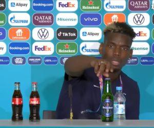 UEFA Euro 2020 – Après l'affaire Coca-Cola x Cristiano Ronaldo, Paul Pogba s'attaque à Heineken