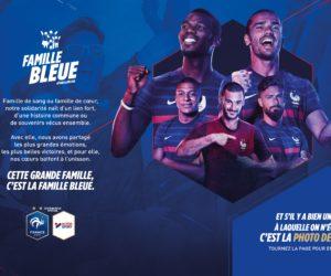 «Famille Bleue» – Intersport active son partenariat avec les Bleus dans le journal L'Equipe