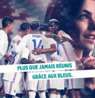 Le Crédit Agricole dévoile sa campagne «Réunis Grâce aux Bleus» pour l'UEFA Euro 2020
