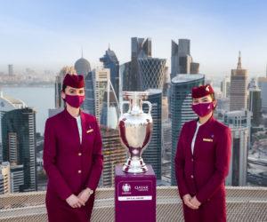 Comment Qatar Airways active son partenariat avec l'UEFA Euro 2020