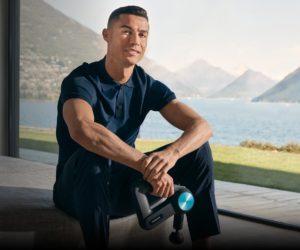 Therabody lance sa plus grande campagne publicitaire avec Cristiano Ronaldo