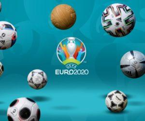 L'évolution des ballons officiels de l'UEFA Euro entre 1698 et 2020 (2021)