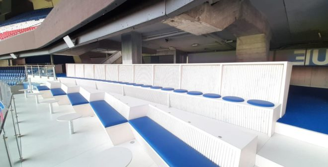 Le PSG lance une nouvelle offre ticketing en mode «sports bar» au Parc des Princes avec l'espace DECK