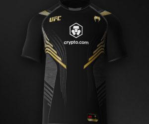 Crypto.com signe un contrat de sponsoring historique avec l'UFC en s'affichant sur les tenues