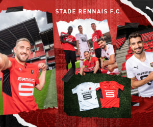 Puma dévoile les nouveaux maillots du Stade Rennais FC pour la saison 2021-2022