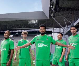 L'ASSE dévoile ses nouveaux maillots 2021-2022 conçus par Le Coq Sportif (et floqué ZeBet)
