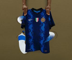 L'Inter Milan dévoile son nouveau maillot «peau de serpent» pour la saison 2021-2022 et officialise Lenovo comme sponsor au dos