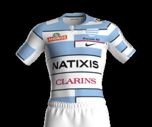 Rugby – TOP 14 : Le Racing 92 officialise l'arrivée de Nike comme nouvel équipementier et dévoile son nouveau maillot