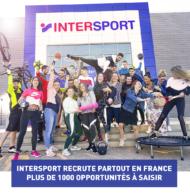 INTERSPORT recrute partout en France avec plus de 1000 postes (emploi, stage, alternance, job étudiant et d'été)