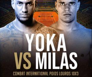 Boxe – Roland-Garros accueille le combat entre Tony Yoka et Petar Milas le 10 septembre 2021 (diffusion Canal+)