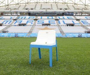 Olympique de Marseille : Des sièges de l'Orange Vélodrome recyclés en chaises design à 300 euros