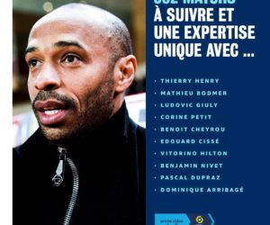 Média – Amazon Prime Video recrute Thierry Henry comme consultant pour son «Pass Ligue 1»
