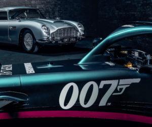 F1 – James Bond (007) s'invite sur les monoplaces Aston Martin de Lance Stroll et Sebastian Vettel pour le Grand Prix de Monza