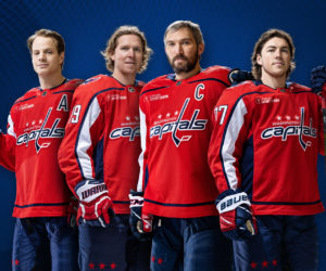 Les Washington Capitals signent le premier contrat de sponsoring maillot de la NHL avec Caesars Sportsbook