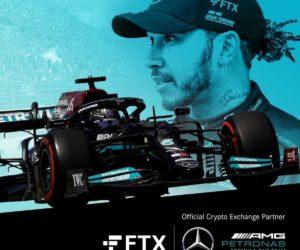 La plateforme de crypto FTX nouveau partenaire de Mercedes F1