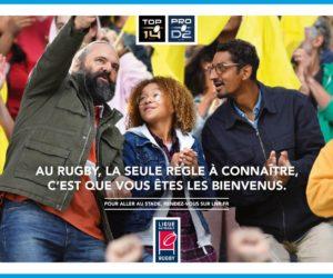 La Ligue Nationale de Rugby (LNR) lance la campagne «A vous d'entrer en jeu»