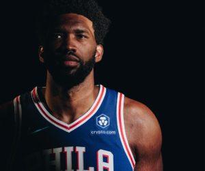 NBA – Crypto.com nouveau sponsor maillot des Philadelphia 76ers