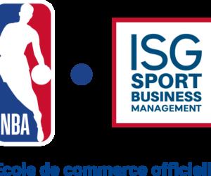 «ISG Sport Business Management» devient école de commerce officielle de la NBA en France