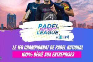 Event – Participez à la Padel Business League, Championnat inter-entreprise qui débute en novembre dans 22 villes