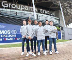 AMOS Sport Business School nouveau Namer de la «Like Zone» de l'OL au Groupama Stadium