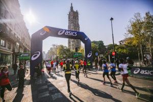 Asics prolonge avec le Marathon de Paris jusqu'en 2025