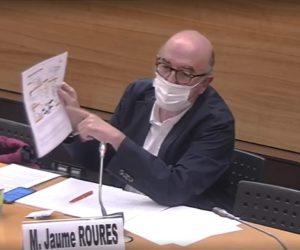 Replay intégral de l'audition de Jaume Roures, patron de Mediapro, par la mission parlementaire droits TV