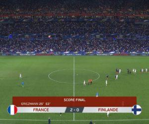Un pic à 8 millions de téléspectateurs pour le match France – Finlande sur TF1