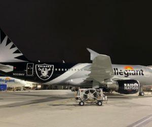 NFL – La compagnie aérienne Allegiant s'active pour la rentrée des Las Vegas Raiders