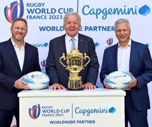 Capgemini partenaire majeur de la Coupe du Monde de Rugby France 2023