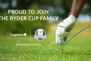 Golf – Capgemini nouveau partenaire de la Ryder Cup jusqu'au moins 2027