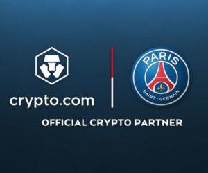 Crypto.com nouveau partenaire officiel du Paris Saint-Germain, une partie du deal payé en cryptomonnaie
