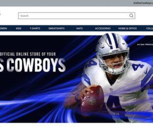 Merchandising – Les Dallas Cowboys (NFL) signent un contrat de 10 ans avec Fanatics, société valorisée à 18 milliards de dollars