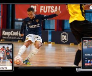 La D1 Futsal trouve un diffuseur avec «Futsal Zone», chaîne produite par Sportall