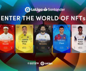 LaLiga signe avec Sorare pour une collection de NFTs