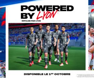 EA SPORTS partenaire de l'Olympique Lyonnais jusqu'au moins 2024