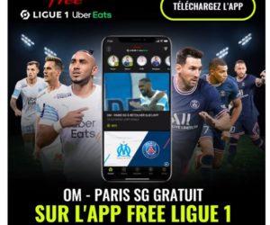 Le classico «OM-PSG» sera gratuit sur l'application Free Ligue 1 (extraits en quasi-direct)
